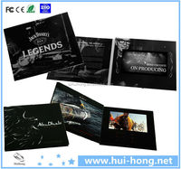 High Quality 4.3Inch LCD Screen hd media player voice recording greeting card