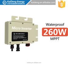 KaiDeng DC to Ac converter grid tie solar power micro inverter