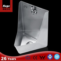 Stainless steel urinal with screw cap