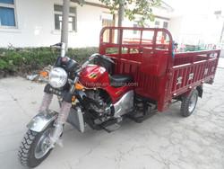 Gas powered van cargo tricycle
