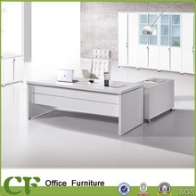CF-B02 White color wooden office table for office