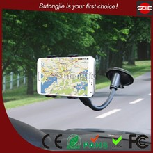 2015 HOT Sale Flexible&Stable Mobile Phone Holder,Car Accessory for Smart with Suction Cup