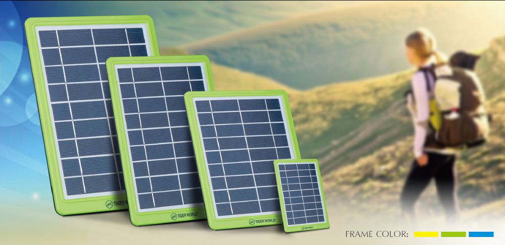 Tiger World 2w 6v Green Portable Outdoor Convenient Solar