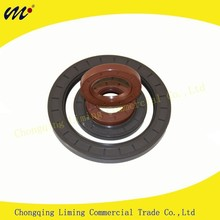 Customize Automotive and Industrial Rubber Covered O.D ACM TC Dual Lip Dustproof Plastic Security Oil Seal