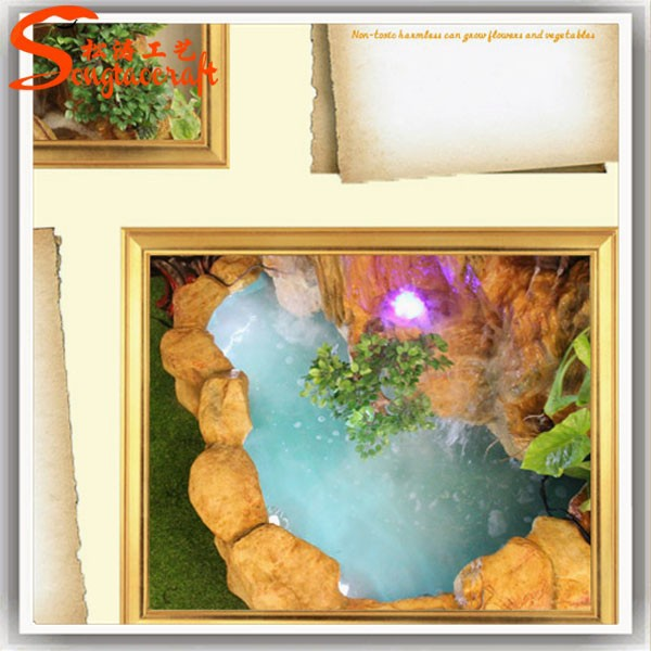 Resin Indoor Fountains And Waterfalls Waterscape