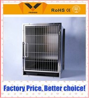 High Quality Foldable Heavy Duty Stainless Steel Dog Cage for Sale Cheap