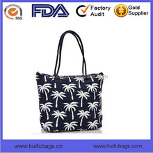 Latest Hot Sale Lady Hand bag Wholesale Canvas Printed bags Unique Style Handbag for Women