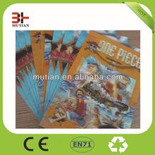 3D lenticular poster,3D printting card,Prastic 3D picture