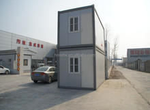 Two-Storey Prefabricated Container House, High Quality, Low Price for Shop, Coffehouse, Fast Food Restaurants