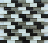8mm Thickness Glass Mosaic Tile Bathroom Wall Tile (KSL-141020)