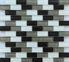 8mm Thickness Glass Mosaic Tile Bathroom Wall Tile (KSL-141020)