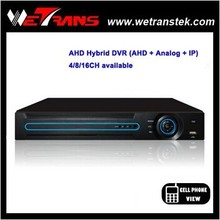 WETRANS new products 2015 innovative products AVR3408E ahd dvr h 264 video recorder cctv camera system