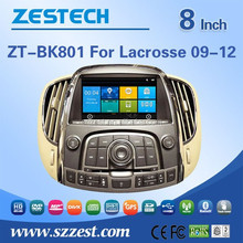 car gps navigation system For BUICK LACROSSE 09-12 car gps with auto radio Bluetooth SD USB Radio wifi 3G