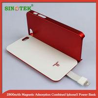 SINOTEK 2800mAh magnetic backup battery case for iphone5