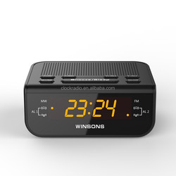 0.6 inch Home/Hotel Digital PLL FM Radio Led Display Alarm Clock Radio