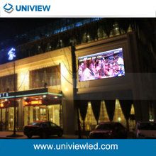 P10mm fixed installation waterproof full color led outdoor display screens