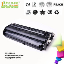 Compatible Remanufactured Laser 92274A Toner Cartridge FOR USE IN HP 4L/4ML/4P/4MP (PT92274A)