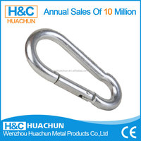 Good quality calabash shaped metal carabiner HC-IS004
