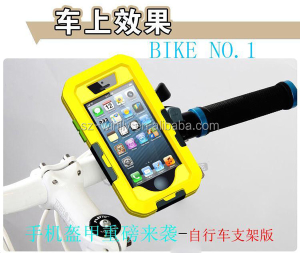 Waterproof Shockproof Metal Aluminum Gorilla Cover Case for iPhone 5 5S