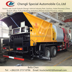 20-26m3 HOWO Synchronous Chip Sealer, Asphalt Spray Truck