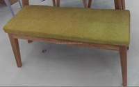 wholesale lounge chair fabric patchwork bench wood feet living room sofa