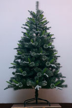 Fashion hot sale pvc white christmas tree with light