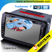 "Erisin ES9401A 8"" Android Car DVD GPS OPS WiFi 3G RDS Multivan T5 Polo V 6R"