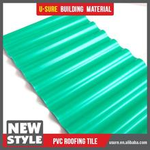 factory roofing material garden tile plastic
