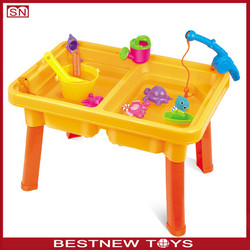 Priate Corsair Sand and Water Play table beach toys with water wheel
