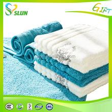 Popular soft multi-color sex bath towel