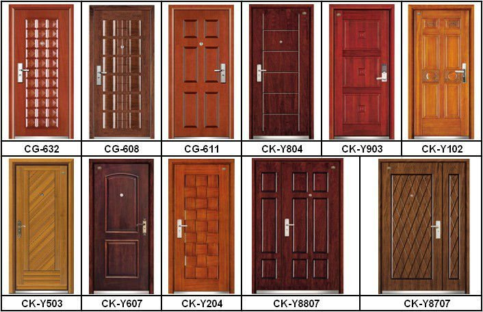 Folding doors room dividers simple design wood door buy for Simple wooden front door designs