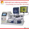 Factory Outlet ! Optical alignment bga rework station WDS-660 Super Large infrared preheating rework bga