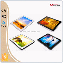 Plastic 8inch ultra-thin lovely led lighting photo picture frame
