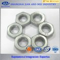 DIN439 ASTM A563 Gr. AHEX Tuerca hexagonal delgada de acero de carbón