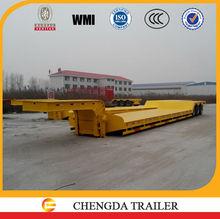 CCC certificated quality retroceso de semitrailer en espanol cargo trailers 50 ton semi-trailer