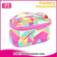 2015 Wholesale PU leather Cosmetic pouch For Lady