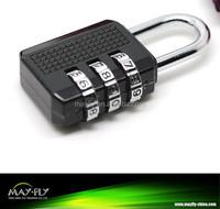 3 code combination lock, code lock, digital door padlock