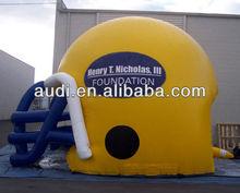 3D inflatable Football Helmet