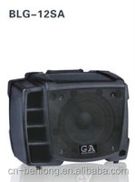 atomic subwoofers speaker with tv wooden sound box public speaker