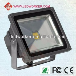 Energy Saving IP65 AC100-240V 70w Osram LED+Meanwell driver two years warranty led flood light With CE&ROHS