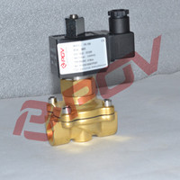 1 inch 2/2way direct acting normally open steam solenoid valve 220v ac