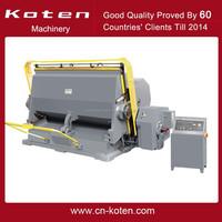 Corrugated Board Die Cutting Machine ML-2200 Sold To Ukrain