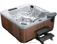 2015 Hot sell dual zone swim spa,spa pool with balboa control system,home spa personal whirlpool