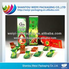 custom nylon poly aluminum foil vacuum tea bag storage containers