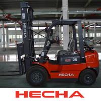 HECHA LPG Dual Fuel Forklift Powered Pallet Truck