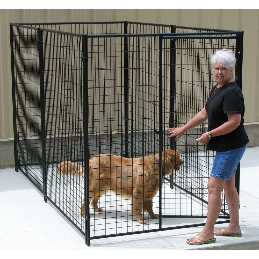 high quality and safty galvanized dog kennel wholesale