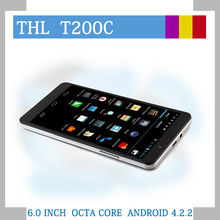 6 inch big screen dual cell phone THL T200 32GB cell phone