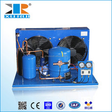 r22 r404a refrigerator cold room compressor condenser unit for glasses display showcase commercial island refrigerator