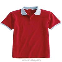 Solid color men 100% cotton free sample polo shirt
