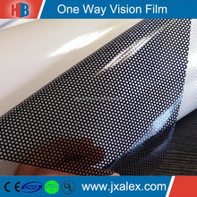 140 micron/140 gsm,Removable,High Quality Solvent Printing SeeThrough Vinyl Signs For Outdoor Advertising